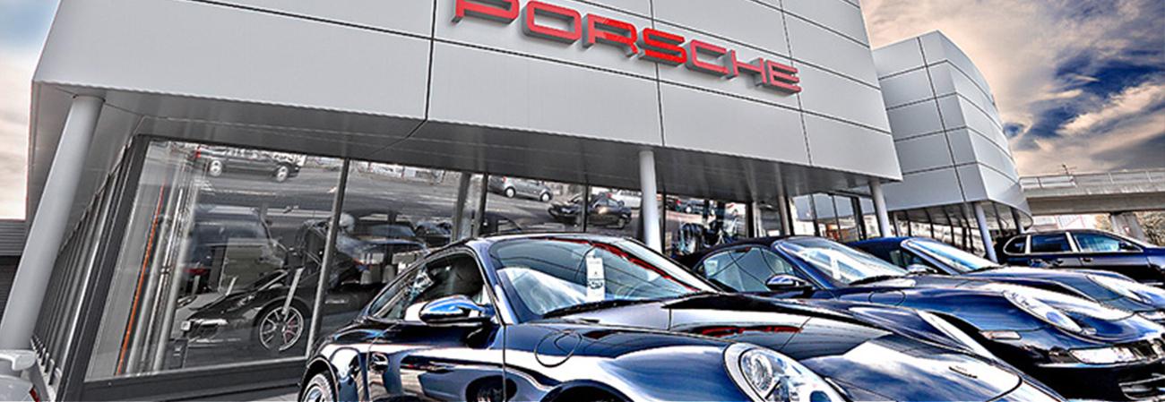 3D Zeichnung Porsche