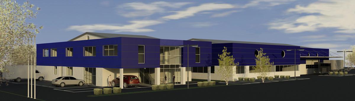 Neubau Betriebsgebäude Pfeiffer-Marine GmbH in 78345 Moos am Bodensee